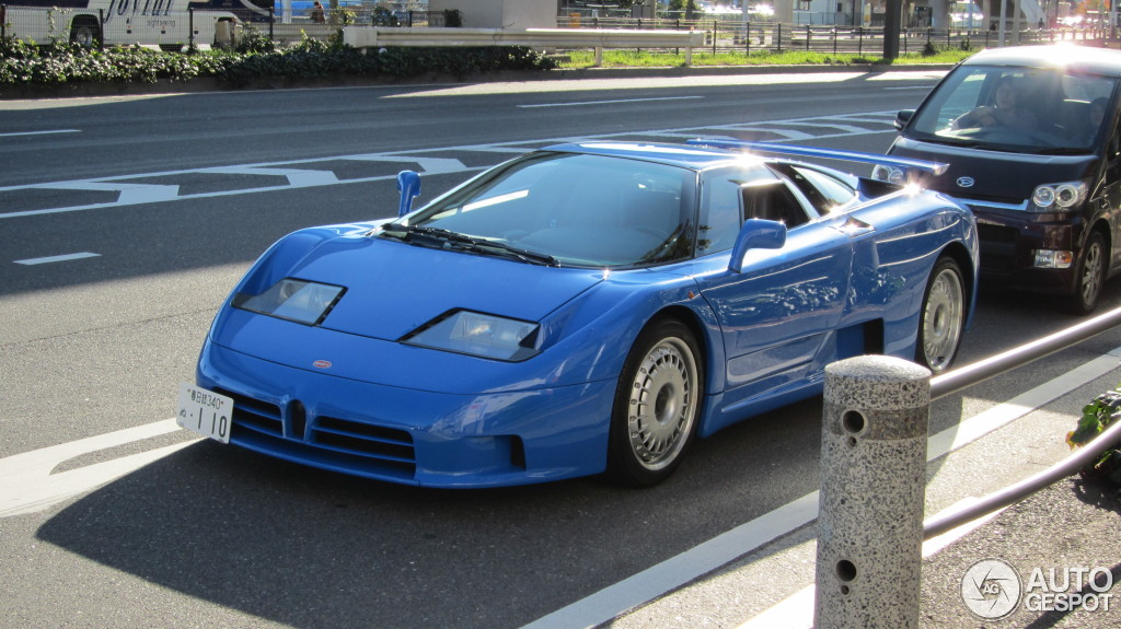 rare bugatti eb110 spotted in japan autoevolution. Black Bedroom Furniture Sets. Home Design Ideas