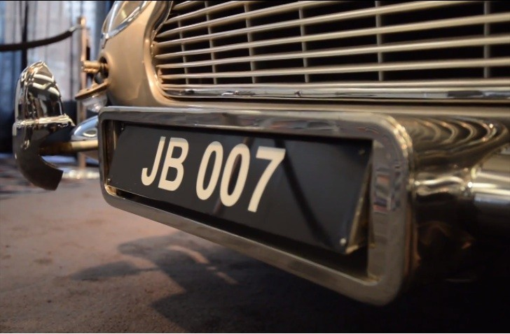 Rare James Bond Aston Martin DB5 Goes Up for Sale