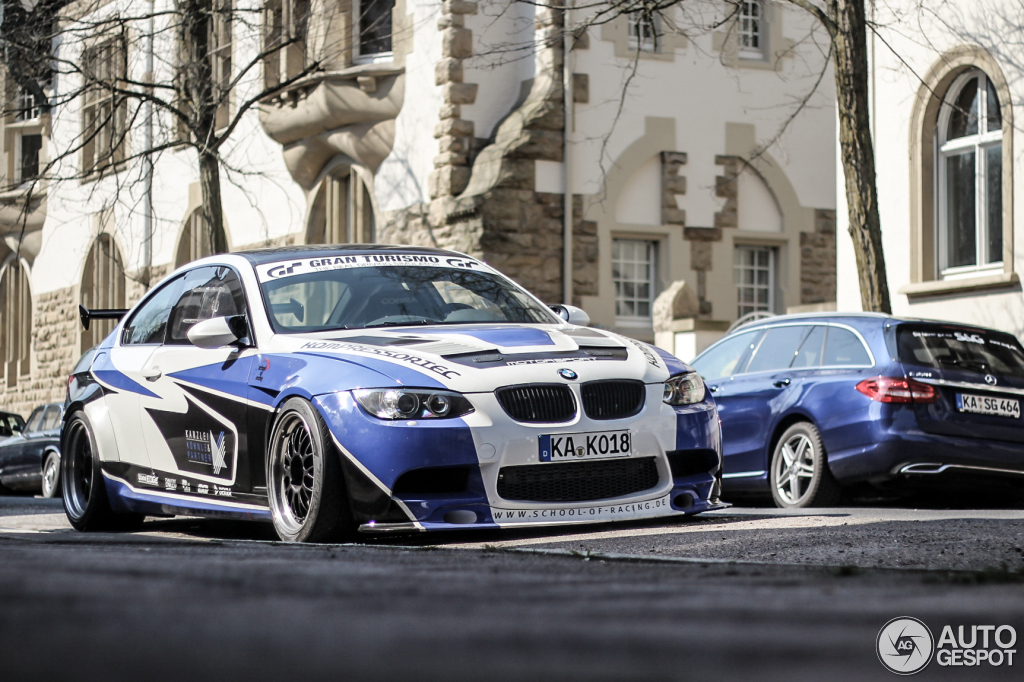 Rare KK Auto BMW E92 M3 Spotted in Germany - autoevolution