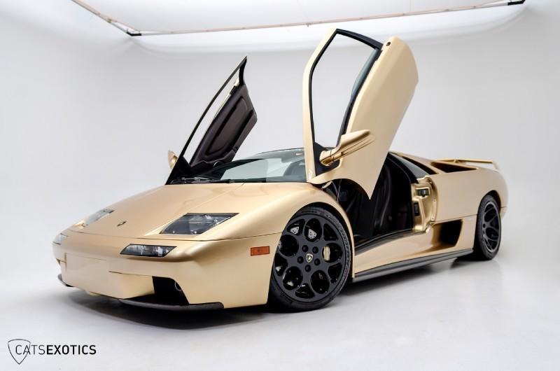 Rare Lamborghini Diablo Oro Elios Up For Sale Autoevolution