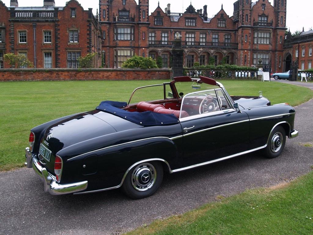 Rare mercedes ponton cabriolet up for auction autoevolution for Rare mercedes benz