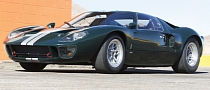 Rare Pine Greeen 1965 Ford GT Up for Auction