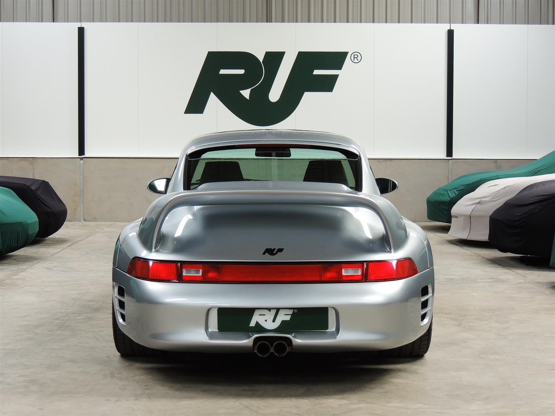 Rare RUF CTR2 Is a Porsche on Steroids, Doesn't Come Cheap