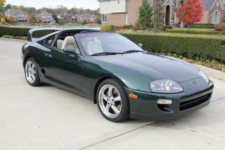 rare stock toyota supra for sale video photo gallery. Black Bedroom Furniture Sets. Home Design Ideas