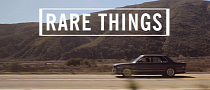 Rare Things: a Girl Mad About the E28 5 Series BMW [Video]