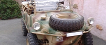 Rare Amphibious VW Schwimmwagen Goes On Sale for $185,500