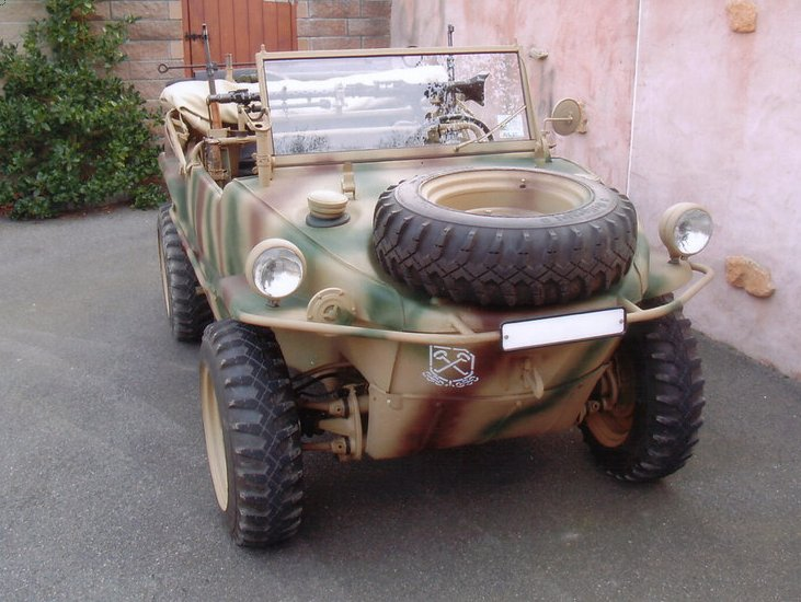 Rare Amphibious VW Schwimmwagen Goes On Sale for $185,500 ...