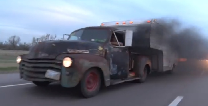 Rat Rod Frankenstein: 1947 Chevy Pickup with 505 HP Ford