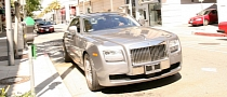 Ray J Flaunting His Rolls Royce Ghost