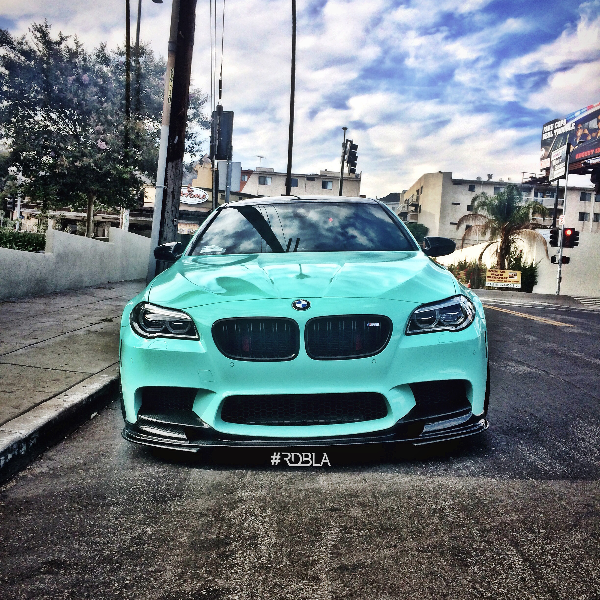 RDB LA Squeezed 660 HP from this Wicked BMW M5 - autoevolution
