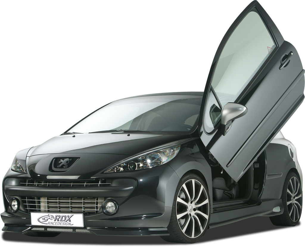 RDX RACEDESIGN Offers Discreet Styling Changes for Peugeot 207 -  autoevolution