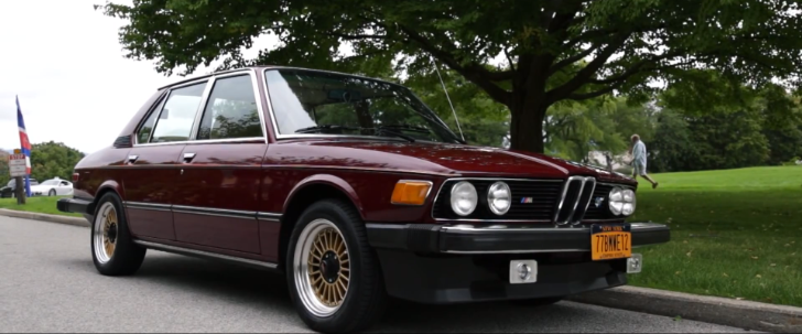 Real Drivers Drive Real Cars: 1977 BMW E12 530i [Video]