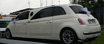 Real Fiat 500 Limo Spotted [Video]