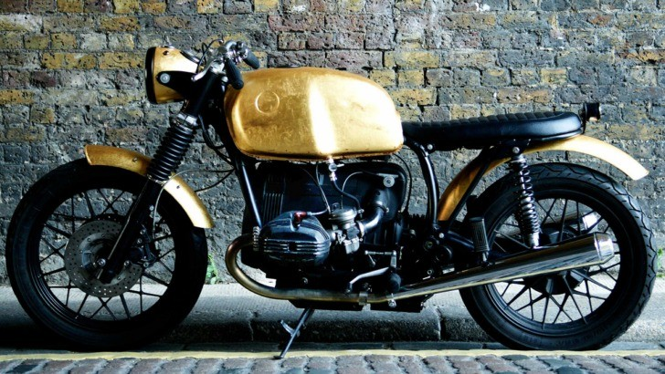 Real Gold for Untitled Motorcycles BMW R80/7