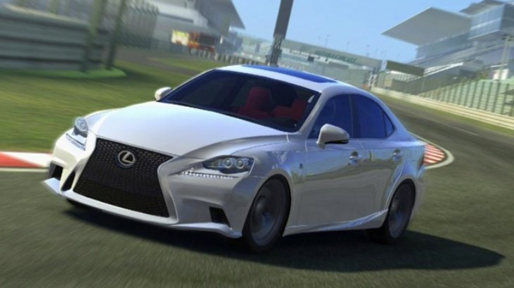 Real Racing 3 Now Features 2014 Lexus IS 350 F Sport