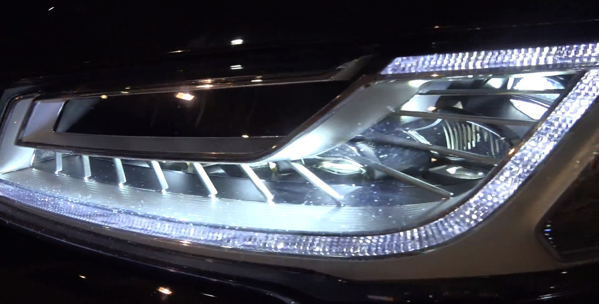 Real World Test Audi A8 S8 Matrix Led Headlights On Highway