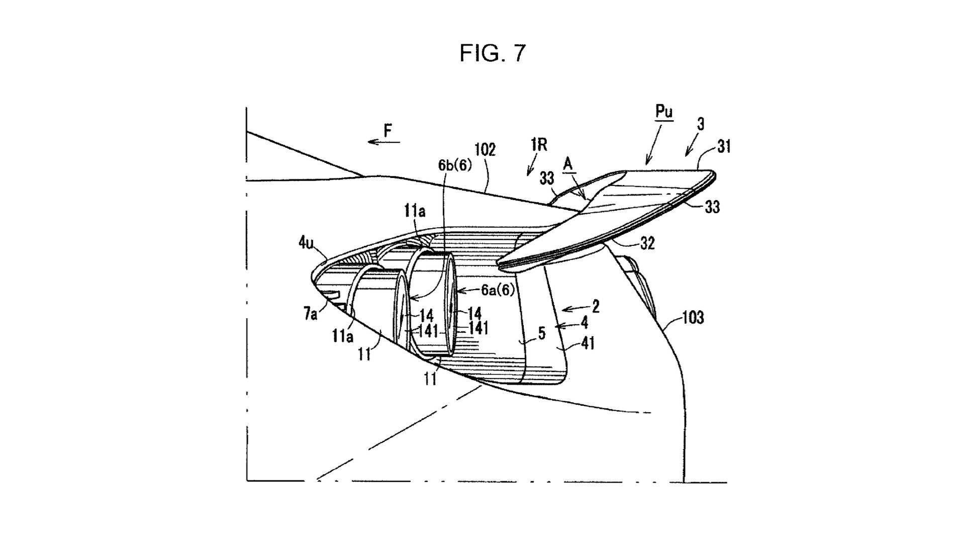 rear wing patent is a sort of teaser for the 2020 mazda rx 9