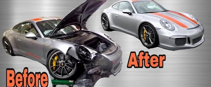 photo of Rebuilding a Wrecked Porsche 911 R