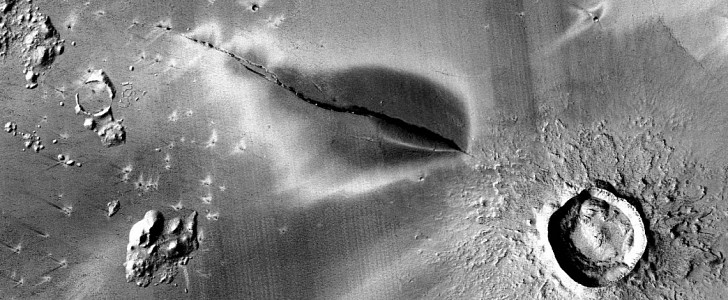 Recent Volcanic Activity on Mars Hints at Possibility of Life