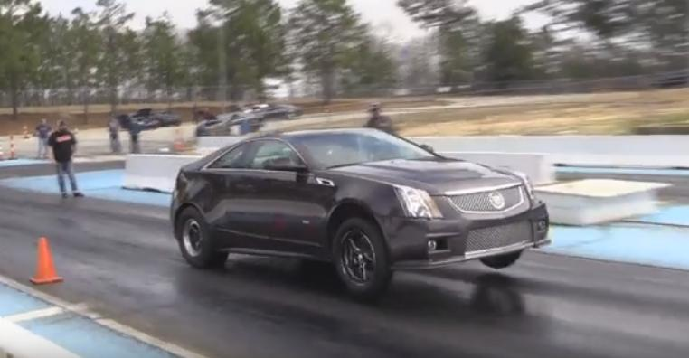 Cts V Coupe That Pulls Wheelstands For Giggles 40 Photos