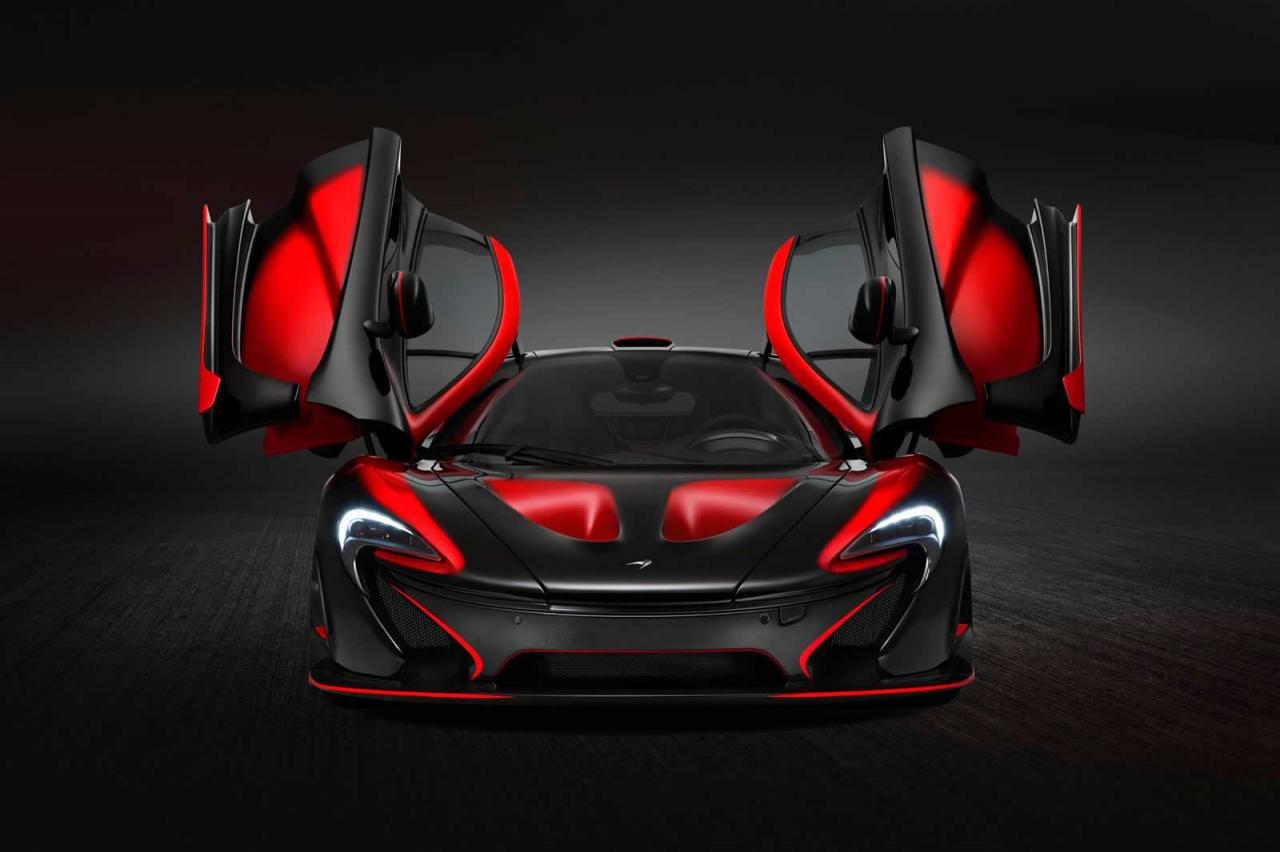 Mclaren P1 Gtr Logo >> Red and Black is the Standard MSO Uniform for this McLaren P1 Supercar - autoevolution