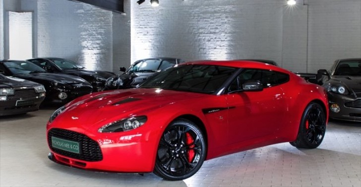 Red Aston Martin V12 Vantage Zagato for Sale [Video]