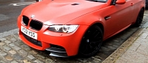 Red BMW M3 M Performance Spotted in the Wild [Video]