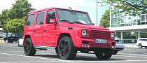 Red Brabus Mercedes G-Klasse Is Wild [Video]