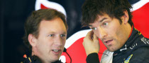Red Bull Boss Upset with Webber for Shoulder Injury Secret