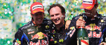 Red Bull Celebrate First F1 Title in History
