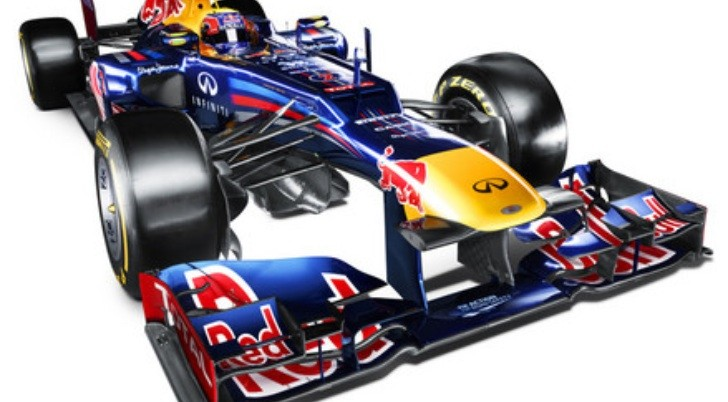 Red Bull Racing RB8 2012 Formula 1 Car Unveiled