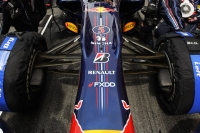Red Bull RB6 suspension