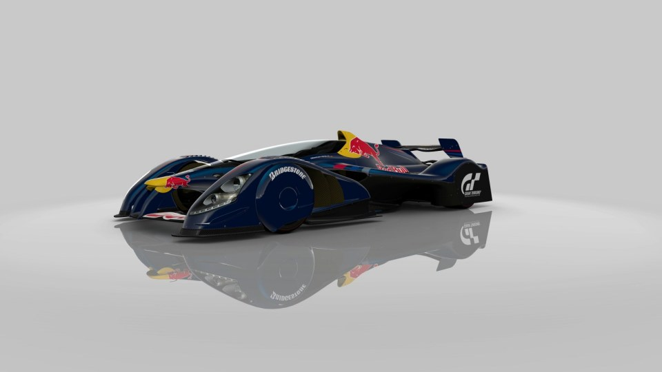 Red Bull X1 Real-Life Model Revealed - autoevolution