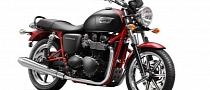 Red Frame Triumph Bonneville SE Rumored