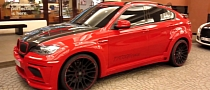 Red Hamann Tycoon Evo II BMW X6 M [Video]