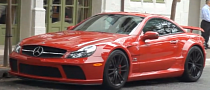 Red Mercedes SL 65 AMG Black Series Sound [Video]