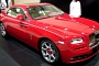 Red Rolls-Royce Wraith Shines in Dubai [Video]