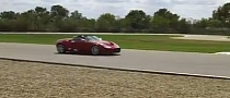 Red Spyker C8s Spyder Track Hooning [Video]