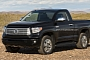 Redesigned 2014 Toyota Tundra Pickup: Regular Cab Rendering