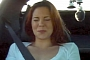 Redhead Girl Joyride in Twin-Turbo Z06 Corvette [Video]