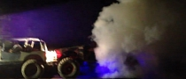 Redneck Rampage: Crazy Rock Crawler Burnout [Video]