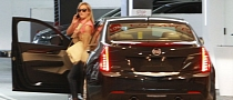 Reese Witherspoon Drives a Cadillac ATS