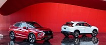 Refreshed 2022 Mitsubishi Eclipse Cross Is First for Oceania, Second for U.S.