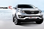 Refreshed Kia Sportage R Debuts in Korea [Photo Gallery]