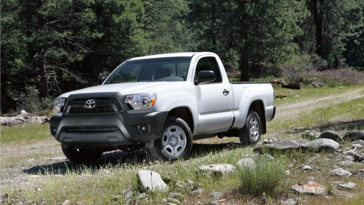 Regular Cab Toyota Tacoma Dropped from 2015?