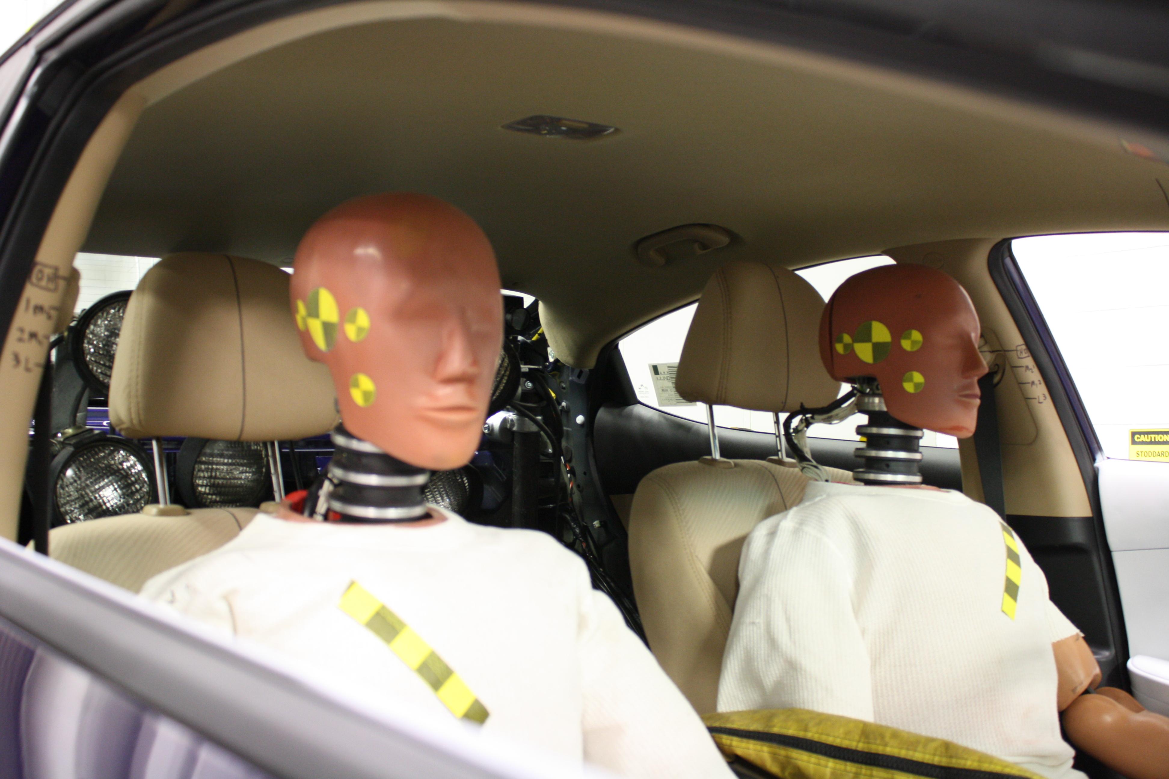 Crash Testing For Backseat Passengers Will Start In 2019
