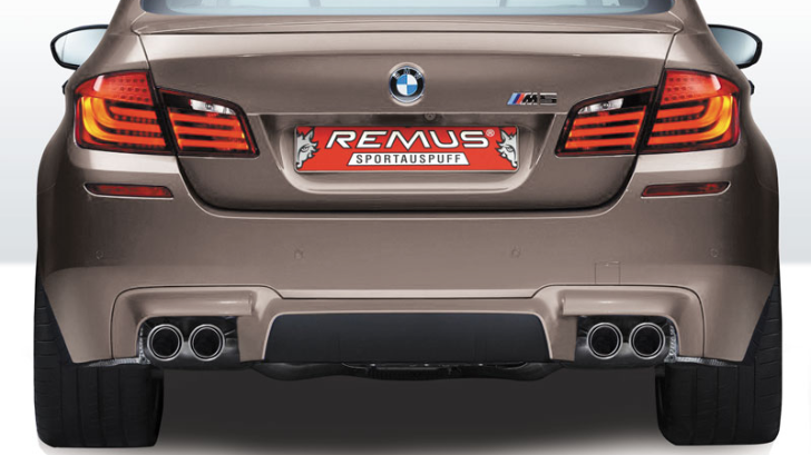 Remus Is Back: BMW M5 Exhaust System Now Available in the US