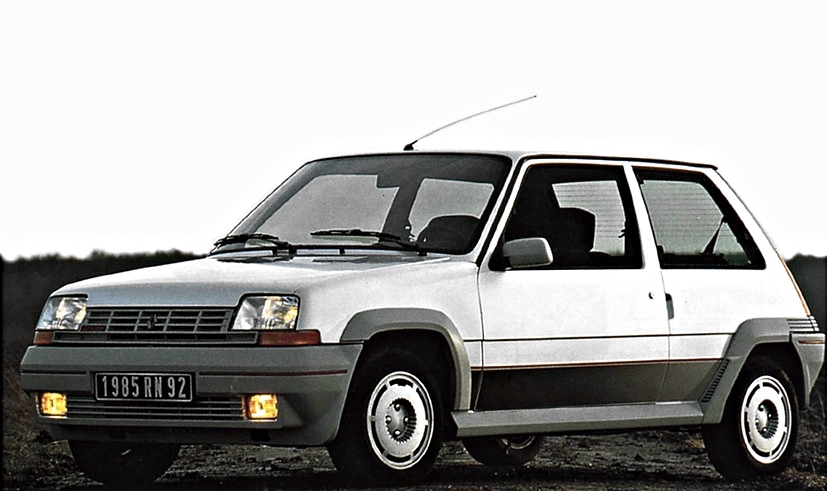 renault 5 gt turbo the original pocket rocket autoevolution. Black Bedroom Furniture Sets. Home Design Ideas