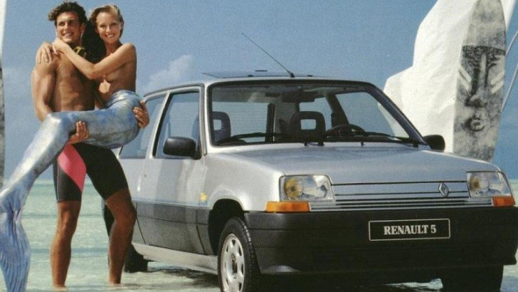 Renault 5 Is Good for Saving Mermaids