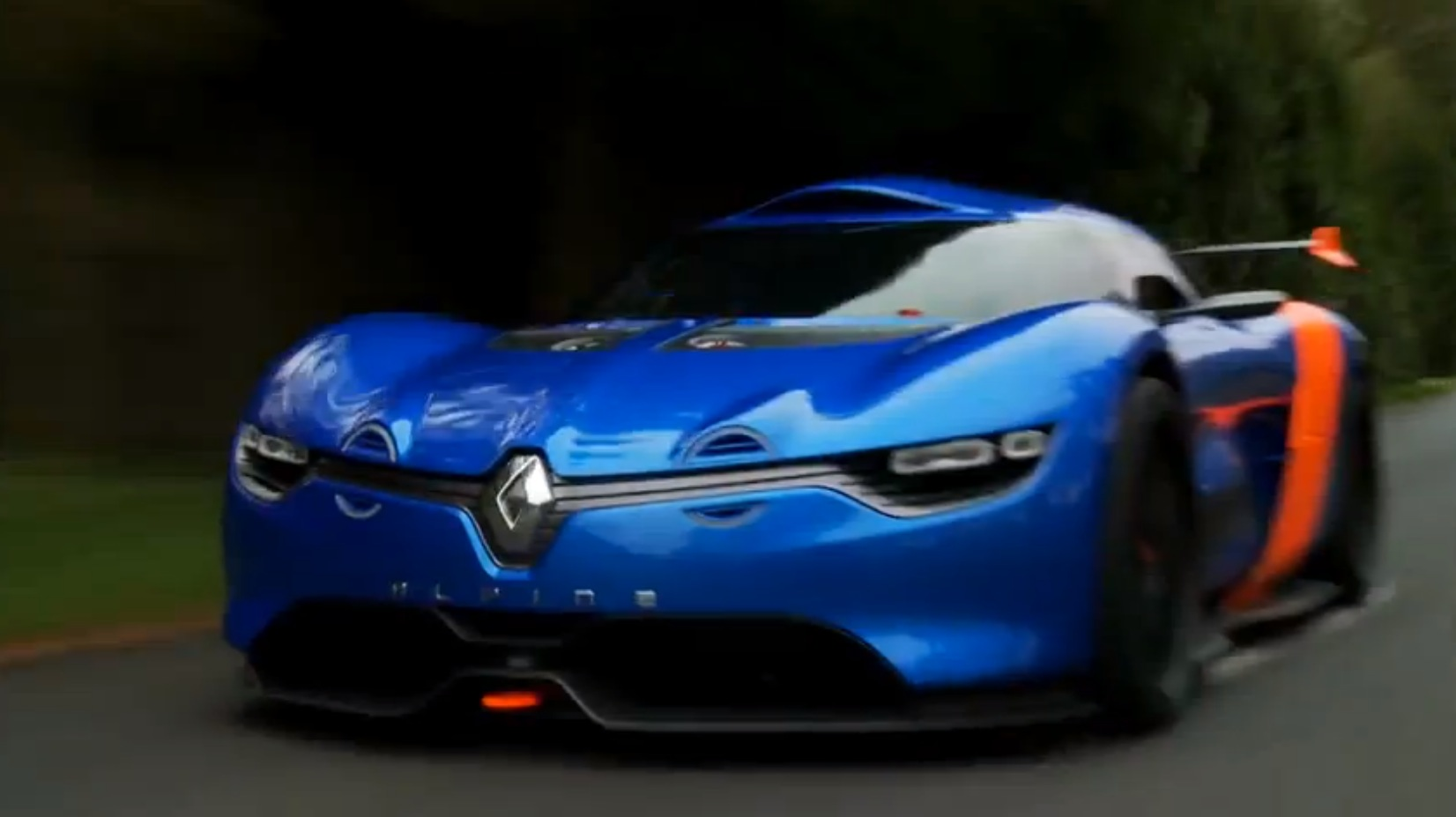 renault alpine a110 50 concept hits the track autoevolution. Black Bedroom Furniture Sets. Home Design Ideas